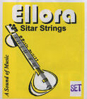 Ellora Complete Set Of Sitar Strings And Sympathetic Tarabh 7+13 = 20 strings