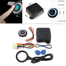 Car Keyless Start Stop Button Engine Push Rfid Lock Keyless Entry Burglar System