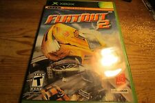 MICROSOFT FLATOUT 2 DRIVING RACING VIDEO GAME