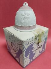 Lladro 1996 Porcelain Christmas Bell # 16297 New In Box