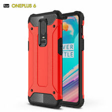 For Oneplus 6 6T Heavy Duty Shockproof Hybrid Armor Case Rugged Bumper Cover