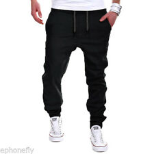 Hombre Largo pantalones Casual De Chándal Jogging Chandal Correr Deporte