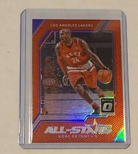 2017-18 Donruss Optic All Stars Kobe Bryant Red Refractor Prizm 33/99 Lakers