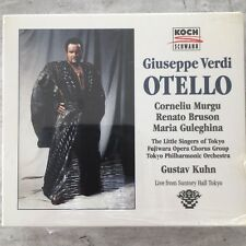 VERDI: Otello - Murgu/Bruson/Guleghina - Kuhn / Live (2-CD-Box Koch 314 074/OVP)