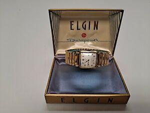 Elgin 17 Jewel Wind Up Watch, 10K R.G.P Bezel, Movement 683, W Case (Working)