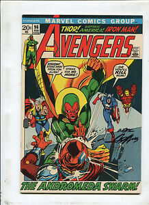 THE AVENGERS #96 (6.5) CLASSIC COVER SIGNED BY NEAL ADAMS, 1972