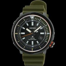 Seiko Street Series Solar Tuna All Green Diver's Men's Watch SNE547P1