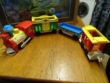 Vintage 1970s Fisher Price Little People Circus Train