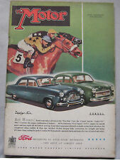 Motor magazine 20/6/1951 featuring Morris Minor 4-door Saloon road test