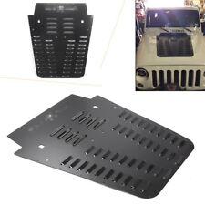 1pc Poison Spyder JK Hood Louver Powdercoat for Jeep Wrangler JK 07-12 Multi