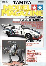 Tamiya Model #14 Porsche 935 Challenger AH 1 Super Snake F86 Sabre Kawasaki