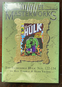 Marvel Masterworks Vol 167 The INCREDIBLE HULK Nos 122-134 HC SEALED - ONLY 980