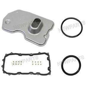 For Porsche 955 Cayenne TipTronic Trans Filter Kit Element Pan Gasket Seal