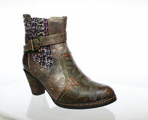 L'Artiste by Spring Step Womens Spring Step Olive Multi Fashion Boots EUR 36