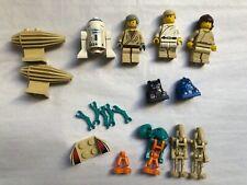 LEGO Star Wars - mixed mini figures & pieces, R2-D2, Skywalker, Obi-Wan Kenobi