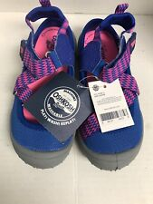 OshKosh Bgosh Girls Shoe Sandal Blue/Pink Size US 11 New