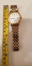 Vintage Seiko Sports 50 Gold toned,  Date Original Bracelet needs  Battery