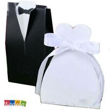 100 Scatole Porta Confetti SPOSI - Sposa Sposo Segnaposto Bomboniere  Matrimonio 368cf887302