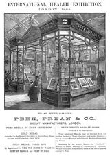 PEAK FREANS & CO Biscuit Manufacturers Victorian Advertisement 1884