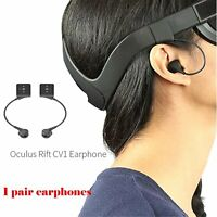 2pc VR Headset In-ear Earphones Accessories Replacement for Oculus Rift CV1 New