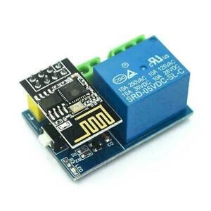 ESP-01S + 5V WiFi Relay Module Smart Home Remote Control Unlock ESP8266 Set N0J4