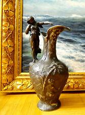 Versilbert Aus Dem 1900 Jh Antike Vase Aus Metall Schön Groß