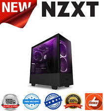 NZXT H510 Elite Black Mid Tower w/Tempered Glass Windows 2x ARGB 140mm Fans