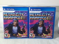 Retro City Rampage DX - Playstation Vita Game, New, Sealed