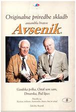 Oberkrainer Besetzung Noten : AVSENIK Originale Bearbeitungen 8 für Quintett