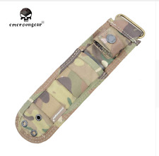 Sheath Canvas Camouflage Knife Scabbard Multi Cam Camo Hunting Army Military Pig