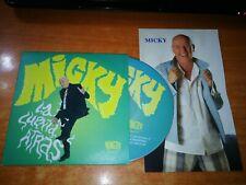 MICKY La cuenta atras CD ALBUM PROMO CARTON 2010 + FOTO PROMOCION 12 TEMAS