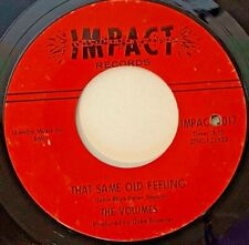 Northern Soul THE VOLUMES That Same Old Feeling 1966 IMPACT 45-1017 DETROIT Soul