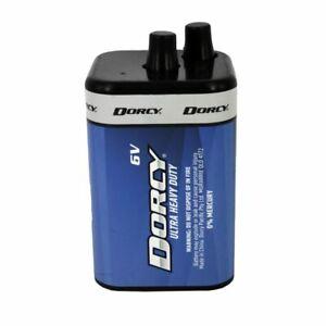 Dorcy 6V Ultra Heavy Duty Battery 41-0800 New