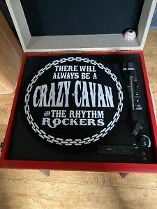Crazy Cavan DJ turntable slip mat vinyl records Teddy Boy Rock N Roll official