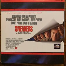 """Sneakers / Letterboxed  -12""""  Laserdisc Buy 6 for free shipping"""