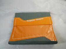Vintage Trapper Keeper Mead 3 Ring Binder Orange Gray