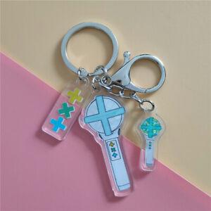 Kpop TXT Lightstick Acrylic Keychain Bag Pendant Charm Keyring
