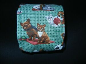 """Dog Puppy Belly Band Wrap Contoured Diaper Male Puppy Flannel lined 16.5"""" PETS"""