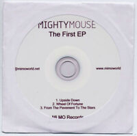 MIGHTY MOUSE The First EP 2011 UK 3-trk promo test CD