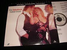 "THE FABULOUS BAKER BOY<>JEFF BRIDGES<>12"" Laserdisc<>LIVE LD68910-WS (1995)"