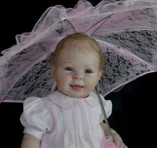 """24"""" Cookie (9 month reborn baby doll kit),by Donna RuBert!-w/bent legs-sitting."""