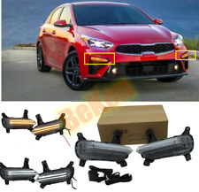 FOR Kia Forte / K3 / Cerato 2019 2020  LED DRL Two color Daytime Running Light