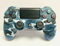 Blue Camouflage Wireless Controller DualShock 4 for Sony PlayStation 4