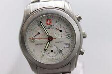 Original Wenger Chronograph 542.0755 Men's Wrist Watch
