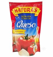 Naturas Queso Sauce 14 oz (4 PACK) Natura's Salsa Queso c/ Vegetales 14 oz