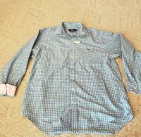 Vineyard Vines Men's Long Sleeve Button Front Shirt X-Large Tucker Plaid