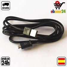 CABLE USB MICRO USB 1,5M CARGADOR MOVILES *Envío GRATIS desde España*