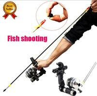 Shooting Fishing Slingshot Archery Bow Can Be Flat Leather Hunting Crossbow Reel