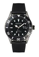 KAHUNA MEN'S BLACK DIAL BLACK STRAP WATCH - KUS0126G - RRP:£50