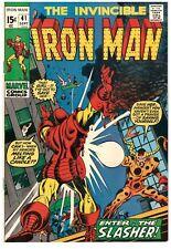 Iron Man 41 SILVER AGE Marvel Comics Fine+ 1971